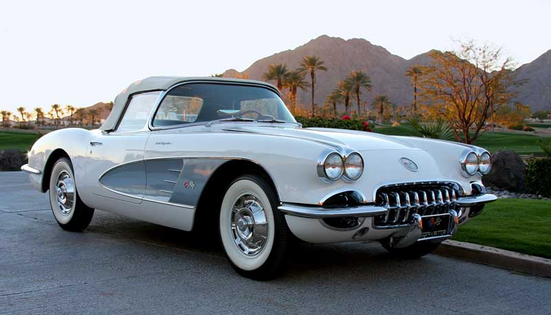 60 Corvette Fuelie Muscle Car